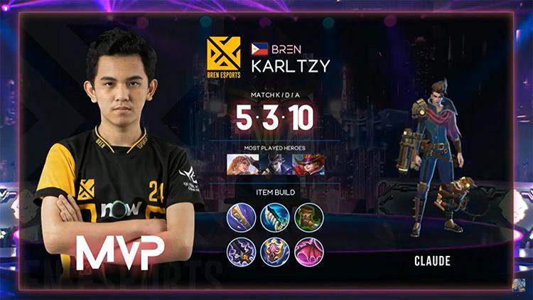 M2 Bren Vs BG MVP Match 1 Result