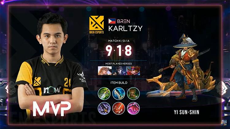 M2 Bren Vs BG MVP Match 2 Result