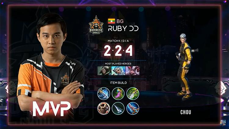 M2 Bren Vs BG MVP Match 3 Result