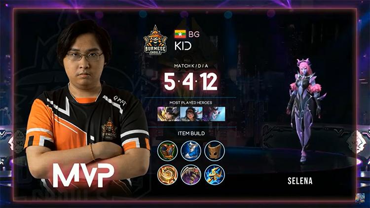 M2 Bren Vs BG MVP Match 5 Result
