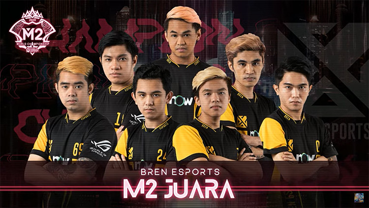 M2 Champion Bren eSport Philipines