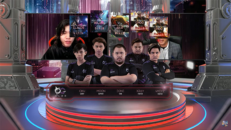 M2 playoff day 1 todak lineup